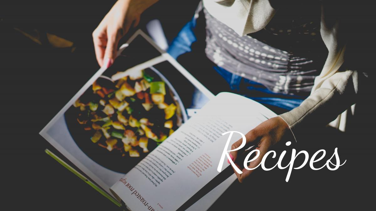 Recipes For Blog Post